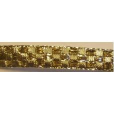 Guldband rutigt 11mm