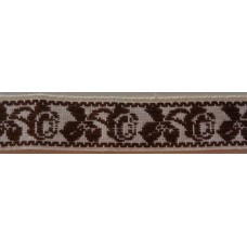 Bomullsband vävt mönster