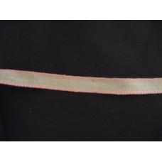 Linband 11mm med rosa kant