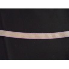 Linband 11mm med ljuslila kant