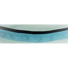 Passpoalband ljusblå/marin