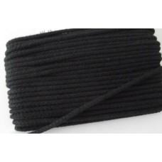 Bomullssnodd svart