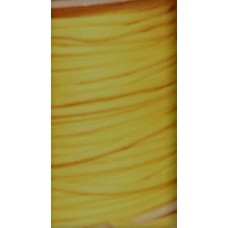 Vaxat bomullssnöre gul