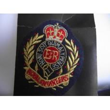 Tygmärke Royal engineers