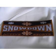 Tygmärke Snowdown