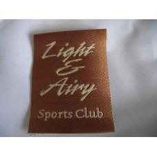 Tygmärke Sportsclub