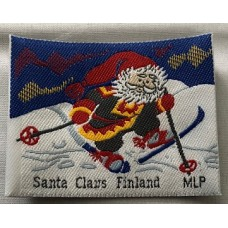 Tygmärke Santa Claus