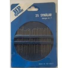 Synålar 25-pack