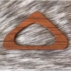 Brickbandshållare i trä