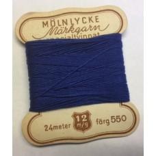 Märkgarn specialtvinnat blå 550