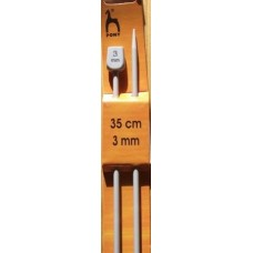 Pony jumperstickor 3mm, 35cm