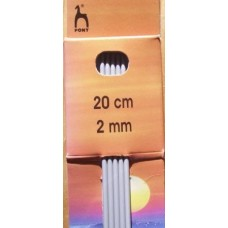 Pony strumpstickor 2mm