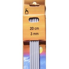Pony strumpstickor 3mm