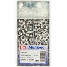 Multipack öljetter 8mm 200st
