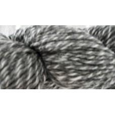 Strumpgarn 4-tr grå-vit