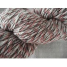 Strumpgarn 4-tr grå/rosa/naturvit