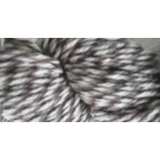 Strumpgarn 4-tr grå/naturvit/lila