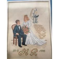 Bröllopstavla
