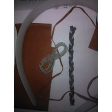 Materialsats diadem, brett
