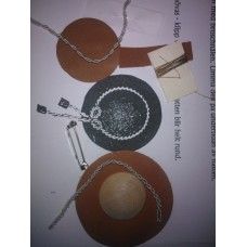 Materialsats brosch-hatt