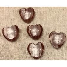 Glashjärta pärla
