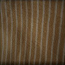 Muddväv tubstickad beige/vit randig