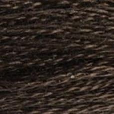 Anchor pärlgarn nr. 8 färg nr. 117 mörkbrun