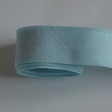 Kantband ljusblå