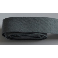 Kantband gråblå