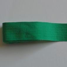 Bomullsband grönt