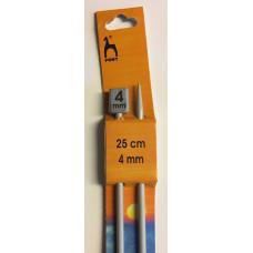 Pony jumperstickor 4mm, 25cm