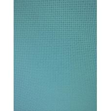 Aidaväv ljusblå 5,3