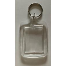 Nyckelring med plasthänge