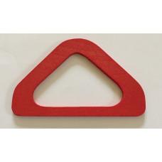 Brickbandshållare i trä röd