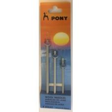 Pony ullnålar