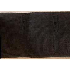 Veckband mörkbrun